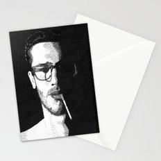 John Frusciante Pointillism Portrait Stationery Cards