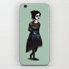 French Girl IV iPhone & iPod Skin