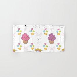 Cute rabbits Hand & Bath Towel