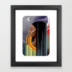 Breaking Tradition Framed Art Print