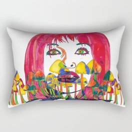In Dreams I Talk to You Rectangular Pillow