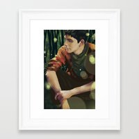 merlin Framed Art Prints featuring Merlin by PrintsofErebor