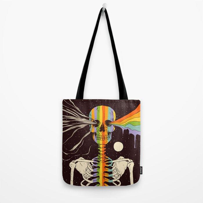 Dark Side of Existence Tote Bag