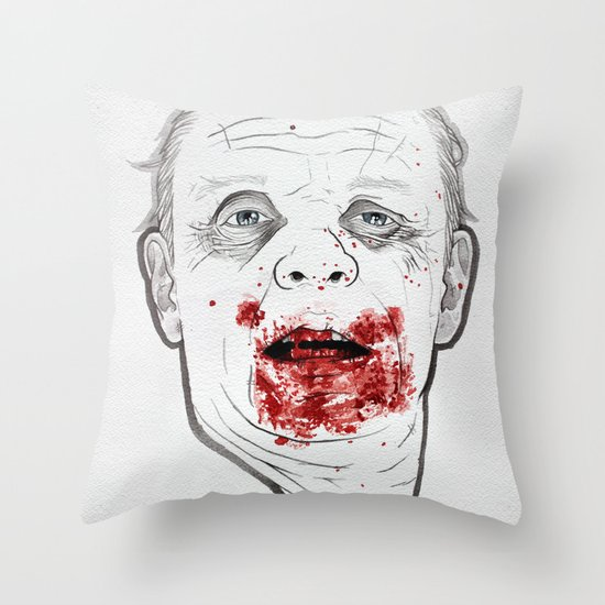 Ready when you are, Sergeant Pembry. // Silence of the Lambs Throw Pillow
