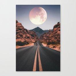 Mooned Canvas Print