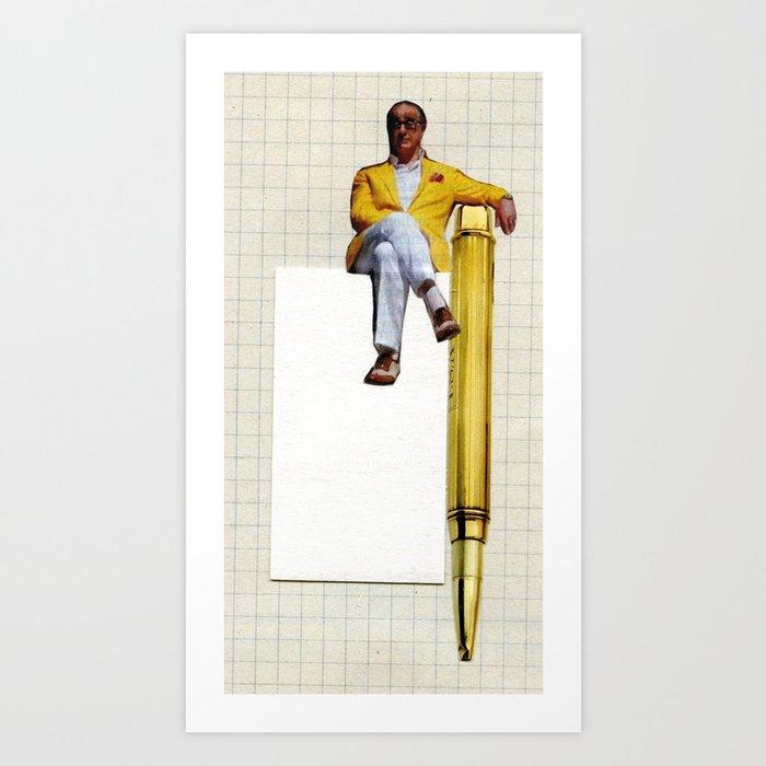 Sitting Art Print