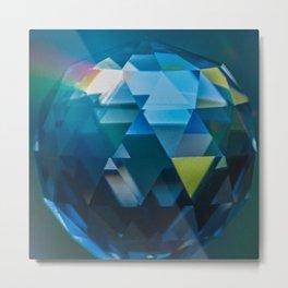 Verte Prism Metal Print