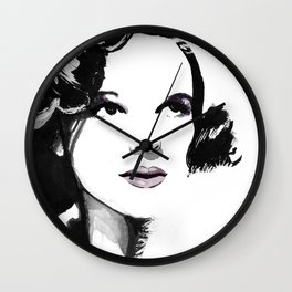 "Joots ""Miss Show Business"" Wall Clock"