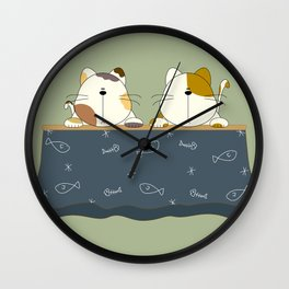 Winter of Japan  Wall Clock