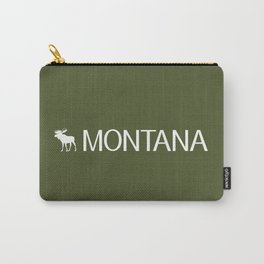 Montana: Moose (Mountain Green) Carry-All Pouch