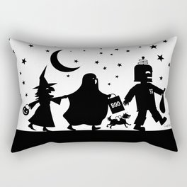 Trick-or-Treat Rectangular Pillow