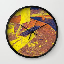 The Bench Wall Clock