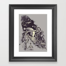 Stranded on Alpha Centauri Framed Art Print