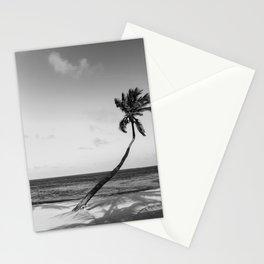 San Pedro Palm B&W Stationery Cards