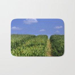 Wheat Field Bridleway Bath Mat