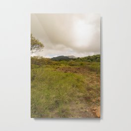 Mountain in Costa Rica Metal Print