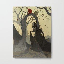 Arcane Apparition Metal Print
