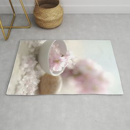 #Still life for #Bathroom with #almond #blossoms #beautiful #homedecors Rug