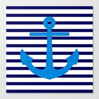 sail Canvas Prints featuring Sail by M Studio