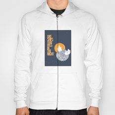 Like ships that pass in the night Hoody