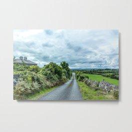The Rising Road, Ireland Metal Print