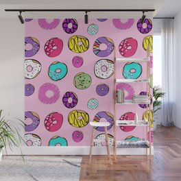 Donuts Dreams Wall Mural