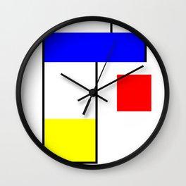 De stijl Wall Clock