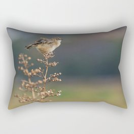 The little bird Rectangular Pillow