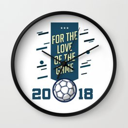 For The LOVE Of The GAME Wall Clock