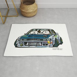 Crazy Car Art 0154 Rug
