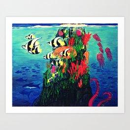 Under Da Sea Art Print