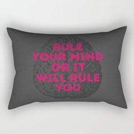 Rule Your Mind Rectangular Pillow