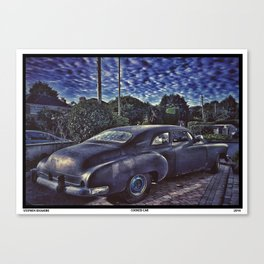 Cooked Car Canvas Print