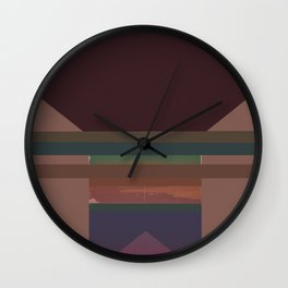 From emptiness to infinity Wall Clock
