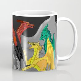 Dragon Wings Of Fire Coffee Mug