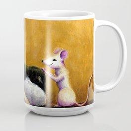 Dog and Mouse Coffee Mug