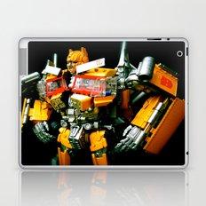 The Golden Optimus Laptop & iPad Skin