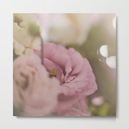 Flowers and roses Metal Print