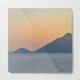 Soft Evening Metal Print