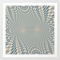 A bit of psychedelic play Art Print