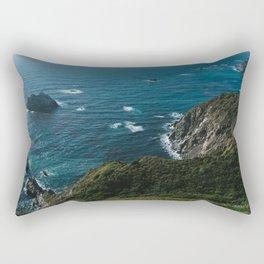 Big Sur California X Rectangular Pillow