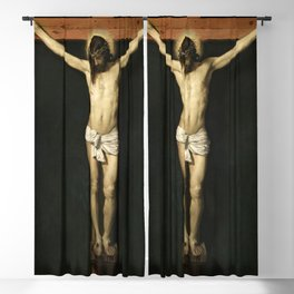 """Diego Velázquez """"The Crucified Christ"""" Blackout Curtain"""
