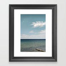 On the Ocean Framed Art Print