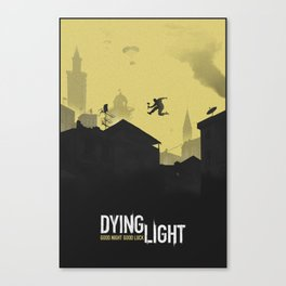 Dying Light Canvas Print