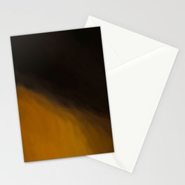 Abstract Orange to Black Shades.   Like painted on canvas. Stationery Cards