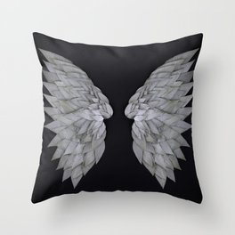 Buddleia Angel Wings Throw Pillow
