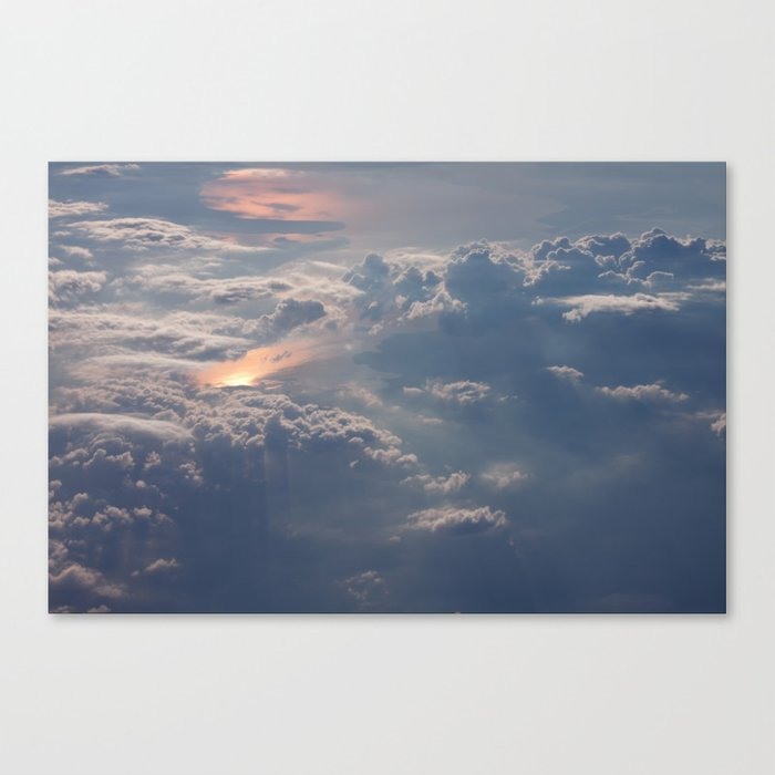 Looking Down from Heaven Canvas Print
