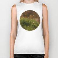 moss Biker Tanks featuring Moss by A Wandering Soul