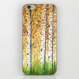 Birch Grove iPhone Skin