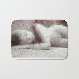 Nude Sleeping Beauty Bath Mat